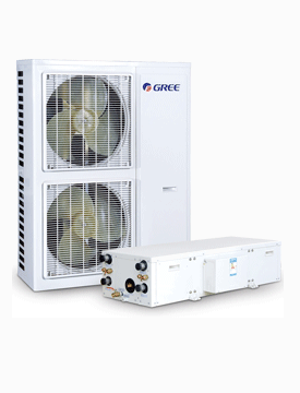 HF系列户式地暖空调机组